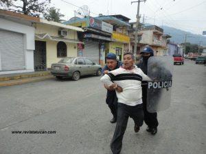 Detenidos en Mechoacán