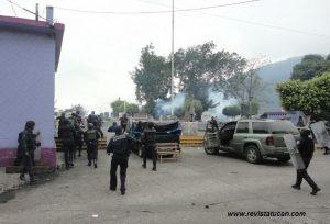 Inicio del operativo en Mechoacán