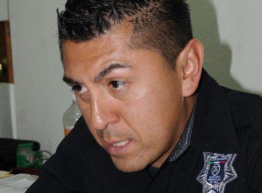 Alberto Martínez Bartolano, Director de Policía y Tránsito Municipal en Xoxocotlán