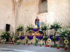 Altar de Dolores.