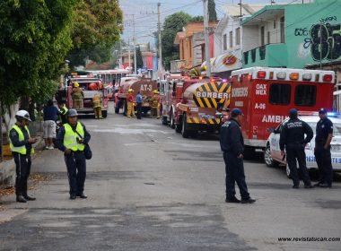 Bomberos controlaron la situación, luego de dos horas de trabajos