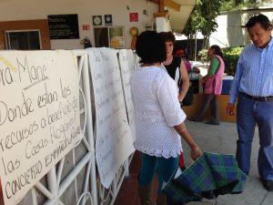 Paro de labores en el DIF Oaxaca