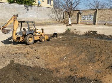 Trabajos en la planta tratadora de aguas residuales de la Villa de Zaachila