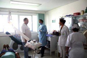Hospital Rural No. 35, ubicado en el municipio de Santiago Jamiltepec.