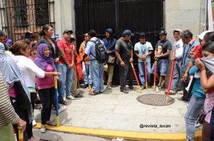 Toma del Palacio de Gobierno de Oaxaca