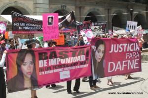 Protestas en la Capital Oaxaqueña contra la violencia