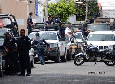 Oaxaca, operativos policíacos