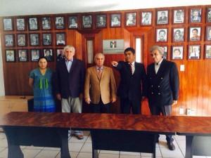 Héctor Anuar Mafud Mafud, tomó la protesta de ley al nuevo Secretario de Finanzas, Gerardo Velasco Soriano