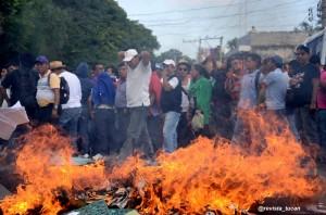 Protesta en Oaxaca