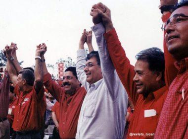 Ulises Ruiz, José Murat y Rito Salinas en epoca electoral