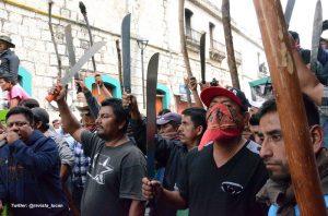 Protestas en Oaxaca