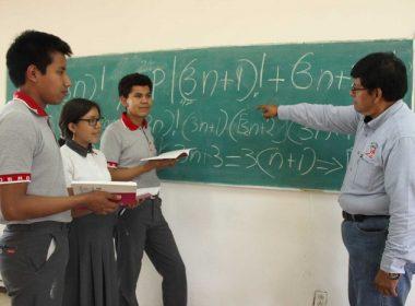 Raúl Antonio Olmos Canseco, docente del plantel 01 Pueblo Nuevo del Cobao