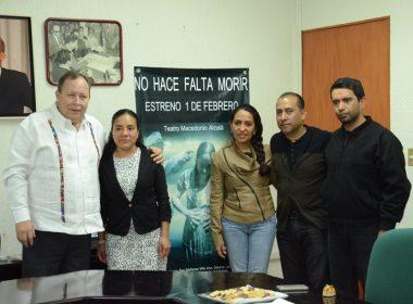 IMSS OAXACA Y EL ELENCO DE NO HACE FALTA MORIR