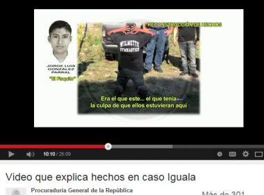 Video de la PGR