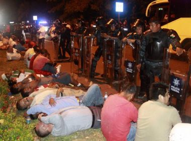Desalojo en Acapulco