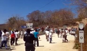 Enfrentamiento en Huatulco 2