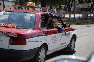 Taxistas preparados para el enfrentamiento
