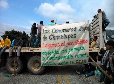Bloqueo en los Chimalapas
