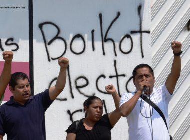 Rumbo al boicot electoral