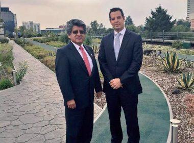 Diputado Federal Francisco Neri y Alejandro Murat