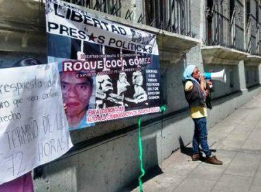 Protesta en los Juzgados Federales