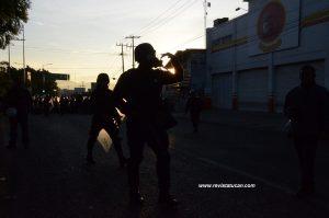 Policía Federal en Oaxaca
