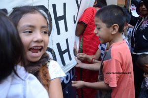 Protesta en Palacio de Gobierno de Oaxaca