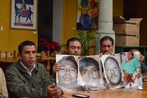 Said Hernández exigió a la Fiscalía de Oaxaca la aprehensión inmediata de sus victimarios.