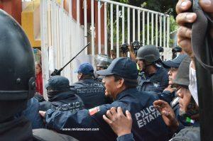 Operativo de la Policía Estatal en Ciudad Universitaria