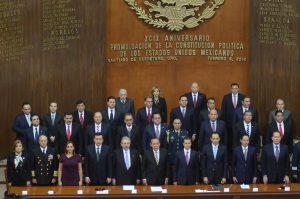 Ceremonia conmemorativa del 99 aniversario de la promulgación de la Constitución Política de los Estados Unidos Mexicanos de 1917