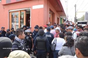 Diálogo entre mentores y policías de Oaxaca