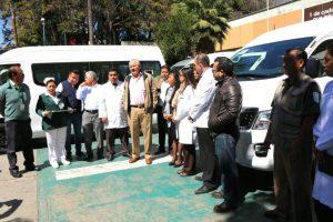Entrega de unidades al IMSS Oaxaca