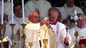 Papa Francisco en la Basílica de Guadalupe