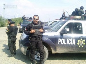 Policía en operativo