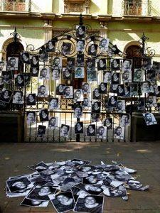 Protesta ante asesinatos y desapariciones de periodistas en México