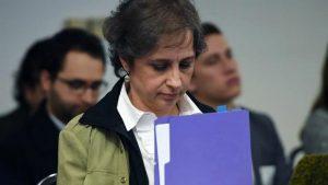 Carmen Aristegui en la Comisión Interamericana de Derechos Humanos