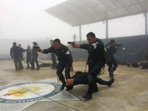 Entrenamiento policíaco