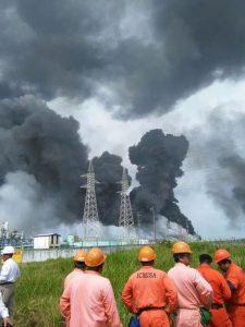 Explosión en Coatzacoalcos