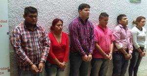 detenidos de la Sierra Norte