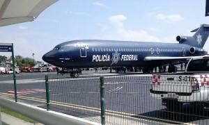 Avión de la Policía Federal