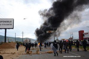 Enfrentamiento en Oaxaca
