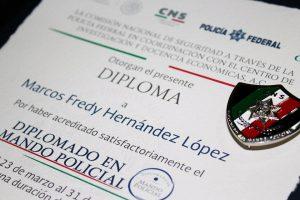 Reconocimiento al Director General de la Policía Vial de Oaxaca