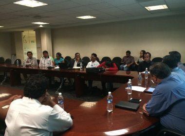 Reunión de funcionarios del Gobierno con paralímpicos