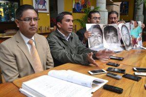 Said Hernández informó hace unos meses, la sentencia condenatoria a los medios de comunicación