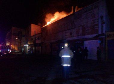 Incendio en Cosijoeza