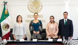Arely Gómez en el Senado