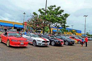 Exhibición del Mustang