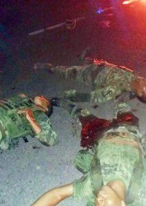 Emboscada en Sinaloa