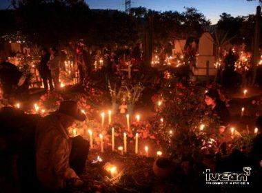 Día de muertos en Atzompa