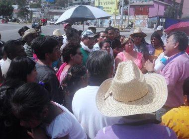 SAPAO atiende peticiones de la población